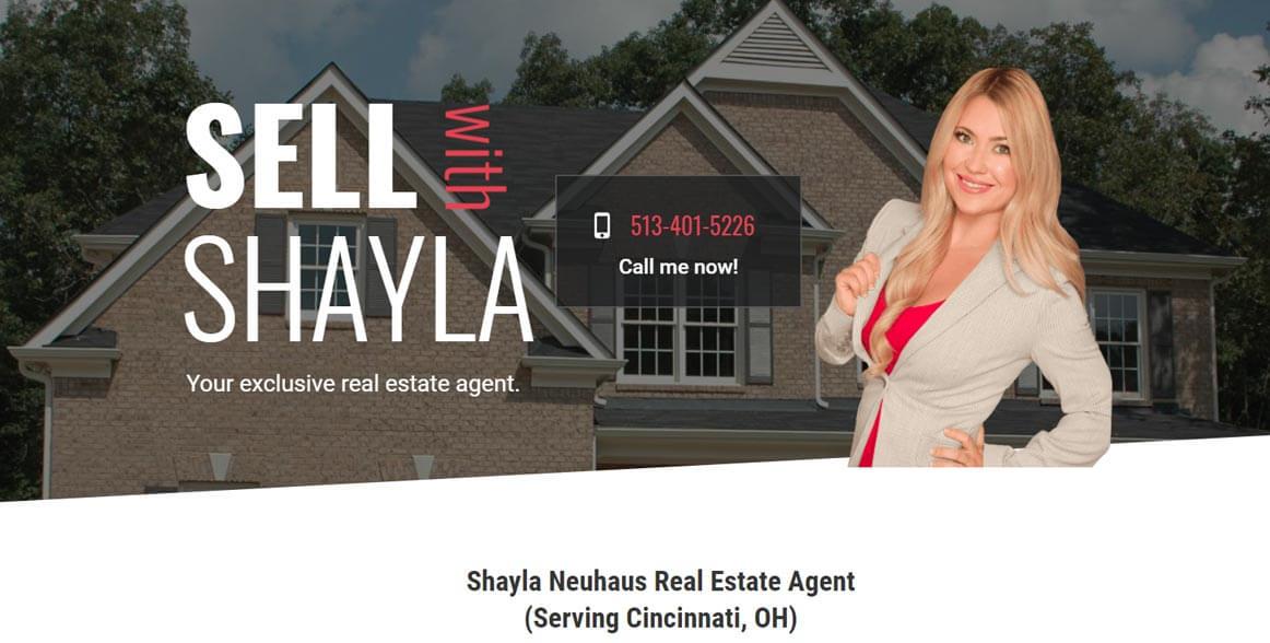 Client: Shayla Neuhaus Real Estate Agent